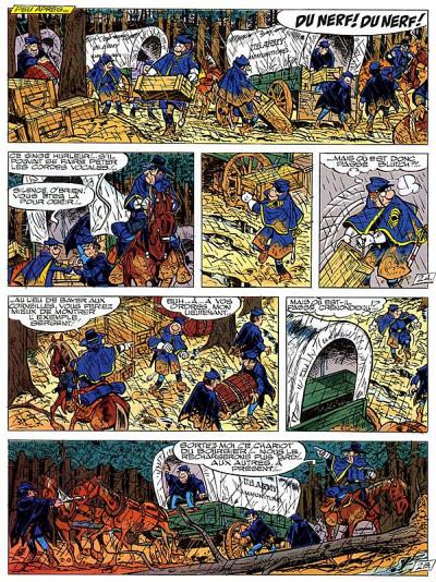 Page 4 les tuniques bleues tome 25 - des bleus et des bosses