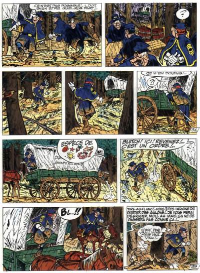 Page 5 les tuniques bleues tome 25 - des bleus et des bosses