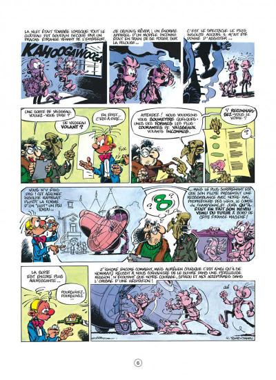 Page 6 spirou et fantasio tome 37 - le réveil du z