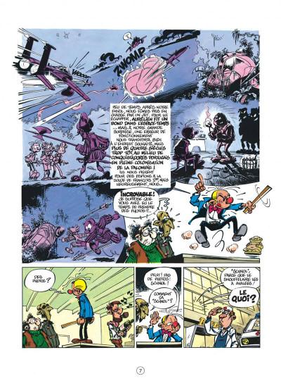 Page 7 spirou et fantasio tome 37 - le réveil du z