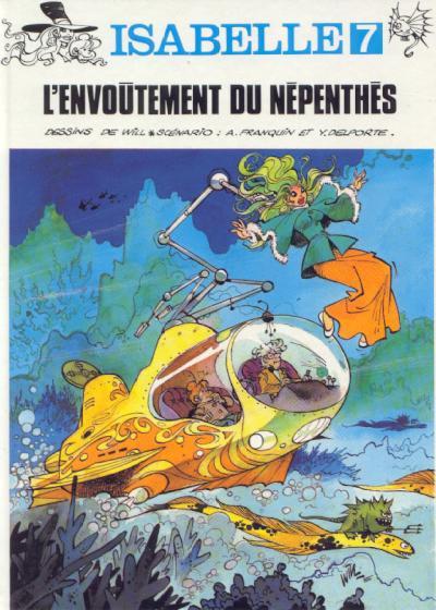 Couverture Isabelle tome 7 - l'envoûtement du népenthès