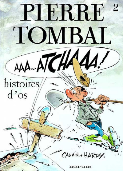 Couverture pierre tombal tome 2 - histoires d'os