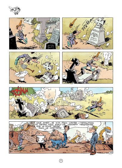 Page 6 pierre tombal tome 2 - histoires d'os