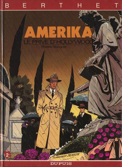 Couverture Le privé d'Hollywood tome 2 - Amerika