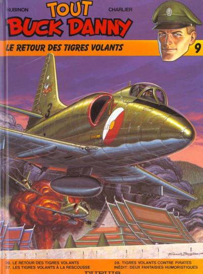 Couverture tout buck danny tome 9 - le retour des tigres volants