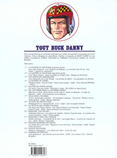 Dos tout buck danny tome 9 - le retour des tigres volants
