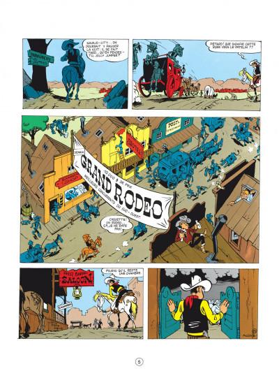 Page 5 lucky luke tome 2 - rodéo