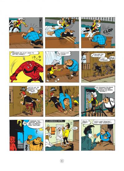 Page 8 lucky luke tome 2 - rodéo