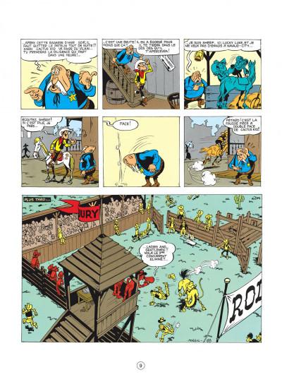 Page 9 lucky luke tome 2 - rodéo