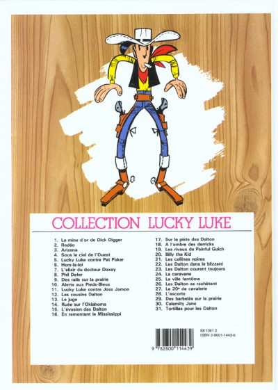 Dos lucky luke tome 3 - arizona