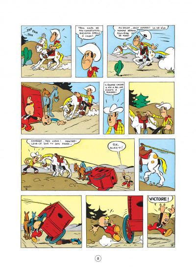 Page 8 lucky luke tome 3 - arizona