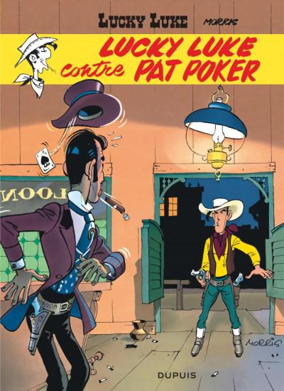 Couverture Lucky Luke tome 5 - Contre Pat Poker