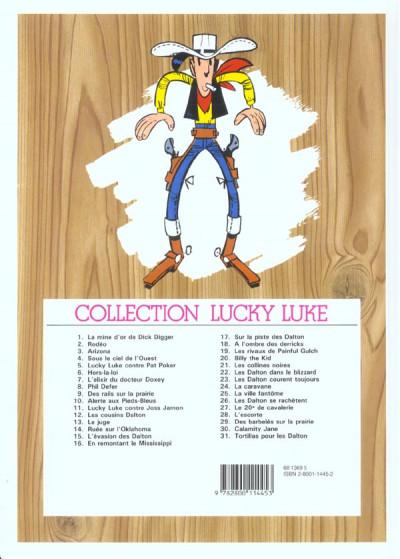 Dos Lucky Luke tome 5 - Contre Pat Poker