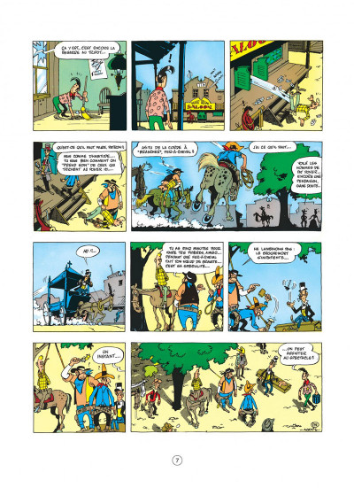 Page 7 Lucky Luke tome 5 - Contre Pat Poker