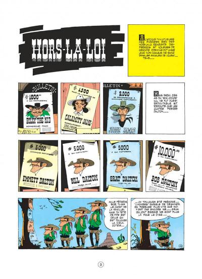 Page 3 lucky luke tome 6 - hors-la-loi