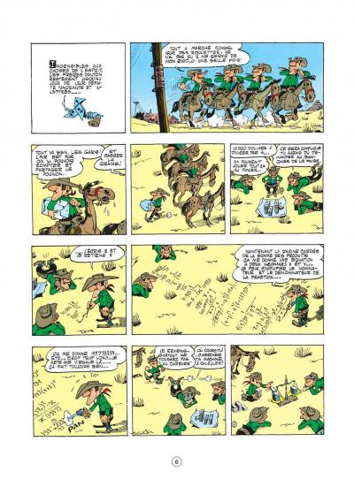 Page 6 lucky luke tome 6 - hors-la-loi