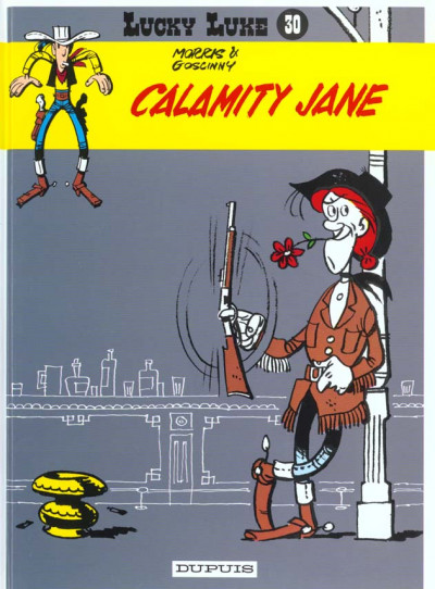 Couverture lucky luke tome 30 - calamity jane