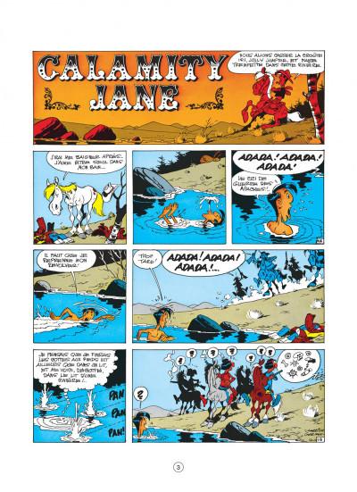 Page 3 lucky luke tome 30 - calamity jane