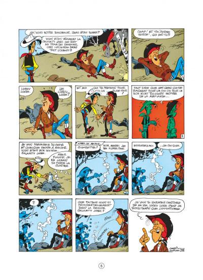 Page 5 lucky luke tome 30 - calamity jane