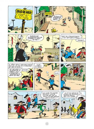 Page 4 lucky luke tome 9 - des rails sur la prairie