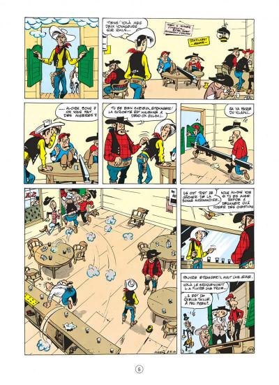 Page 5 lucky luke tome 9 - des rails sur la prairie