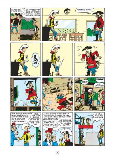 Page 6 lucky luke tome 9 - des rails sur la prairie