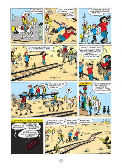 Page 7 lucky luke tome 9 - des rails sur la prairie