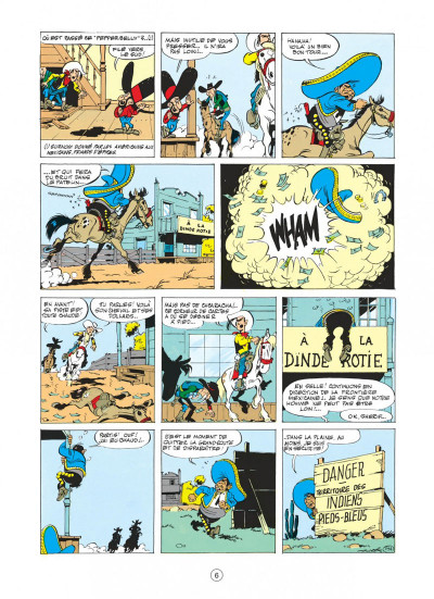 Page 2 lucky luke tome 10 - alerte aux pieds-bleus