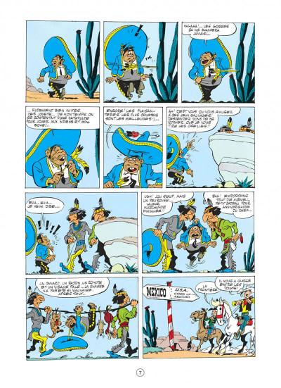 Page 7 lucky luke tome 10 - alerte aux pieds-bleus