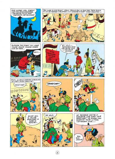 Page 8 lucky luke tome 10 - alerte aux pieds-bleus