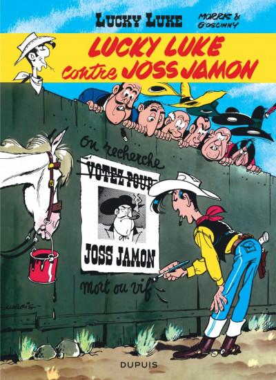 Couverture Lucky Luke tome 11 - Contre Joss Jamon