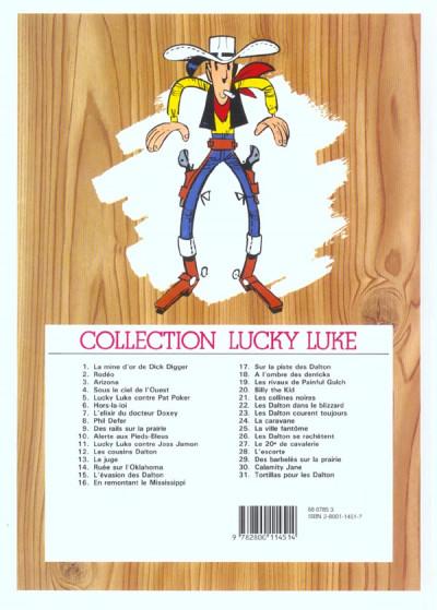 Dos Lucky Luke tome 11 - Contre Joss Jamon