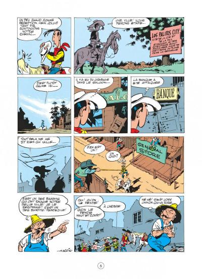 Page 1 Lucky Luke tome 11 - Contre Joss Jamon