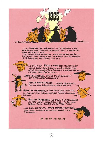Page 3 Lucky Luke tome 11 - Contre Joss Jamon
