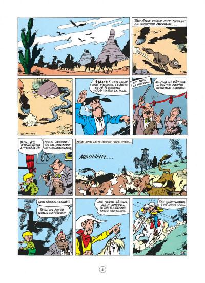 Page 4 Lucky Luke tome 11 - Contre Joss Jamon