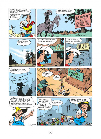 Page 5 Lucky Luke tome 11 - Contre Joss Jamon