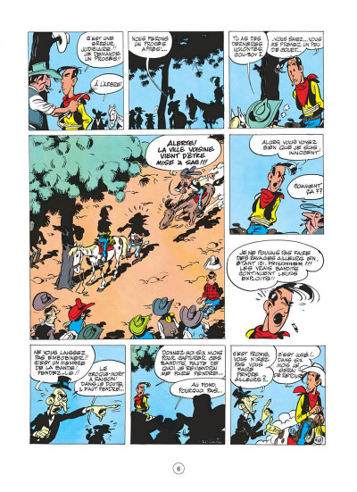 Page 6 Lucky Luke tome 11 - Contre Joss Jamon