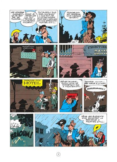 Page 7 Lucky Luke tome 11 - Contre Joss Jamon
