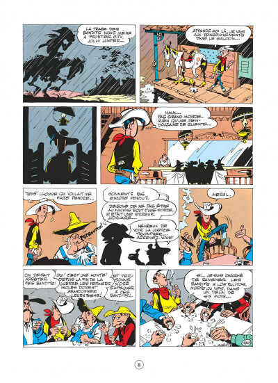 Page 8 Lucky Luke tome 11 - Contre Joss Jamon