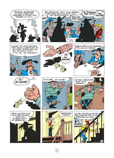 Page 9 Lucky Luke tome 11 - Contre Joss Jamon