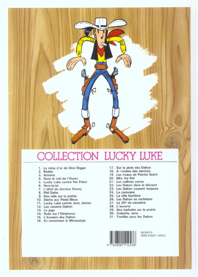 Dos lucky luke tome 13 - le juge