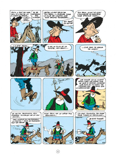 Page 4 lucky luke tome 13 - le juge