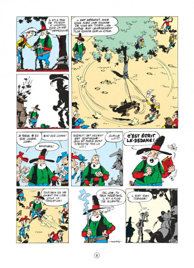 Page 8 lucky luke tome 13 - le juge