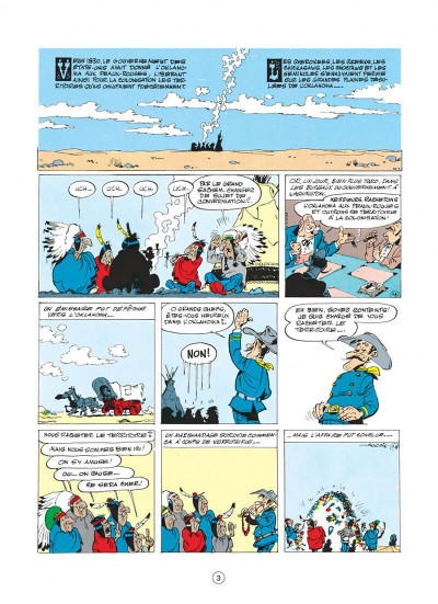 Page 3 lucky luke tome 14 - ruée sur l'oklahoma