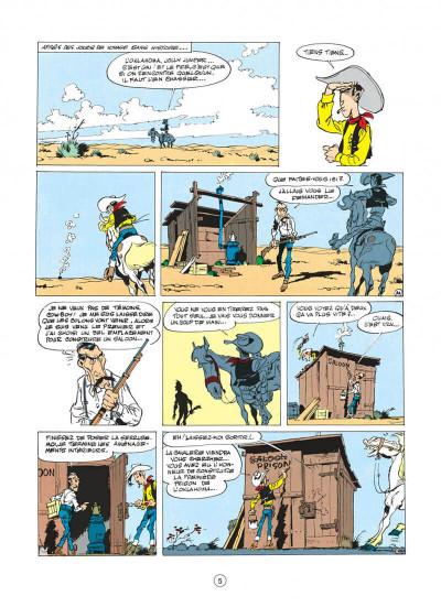 Page 5 lucky luke tome 14 - ruée sur l'oklahoma
