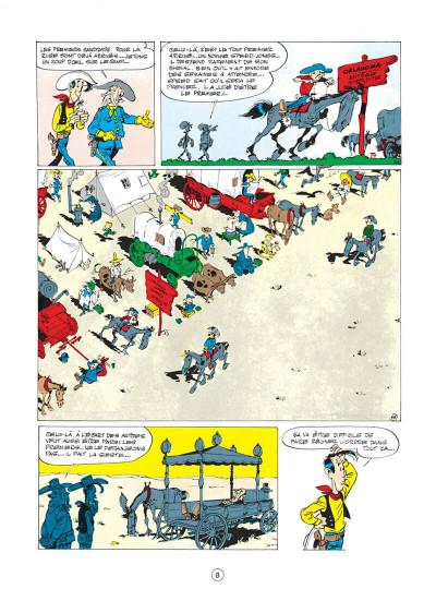 Page 8 lucky luke tome 14 - ruée sur l'oklahoma