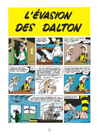 Page 3 Lucky Luke tome 15 - l'évasion des Dalton