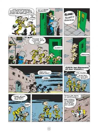 Page 6 Lucky Luke tome 15 - l'évasion des Dalton