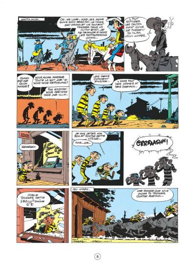 Page 8 Lucky Luke tome 15 - l'évasion des Dalton