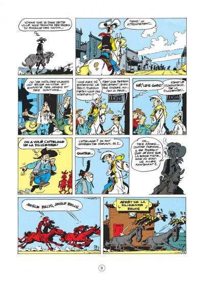 Page 9 Lucky Luke tome 15 - l'évasion des Dalton